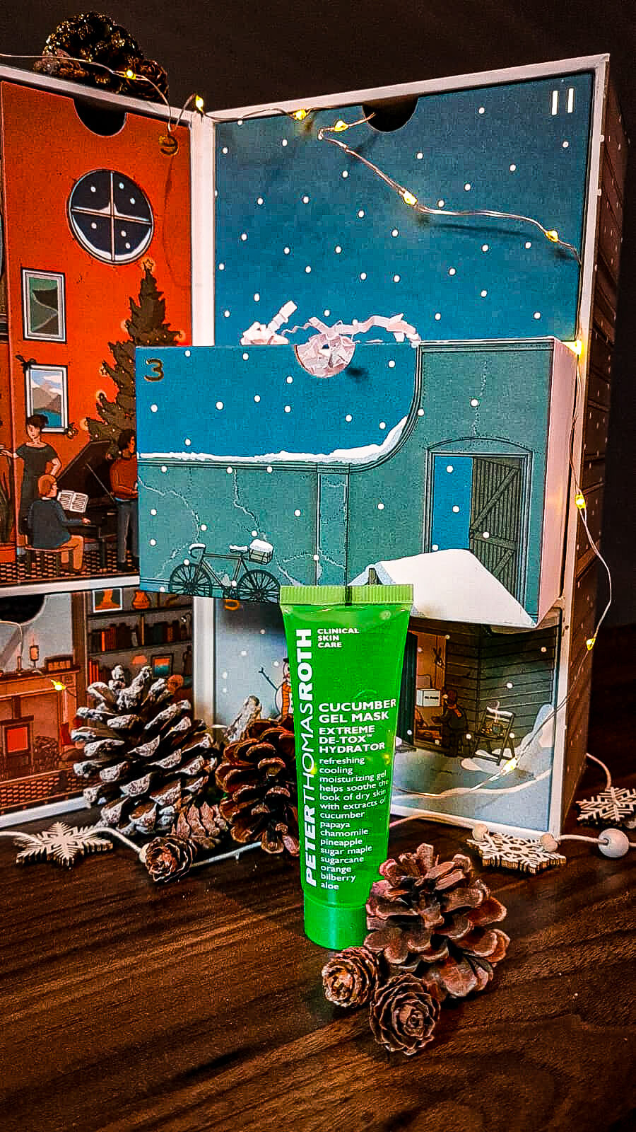 Male Grooming Calendar With MR PORTER - Peter Thomas Roth's Cucumber Gel Mask