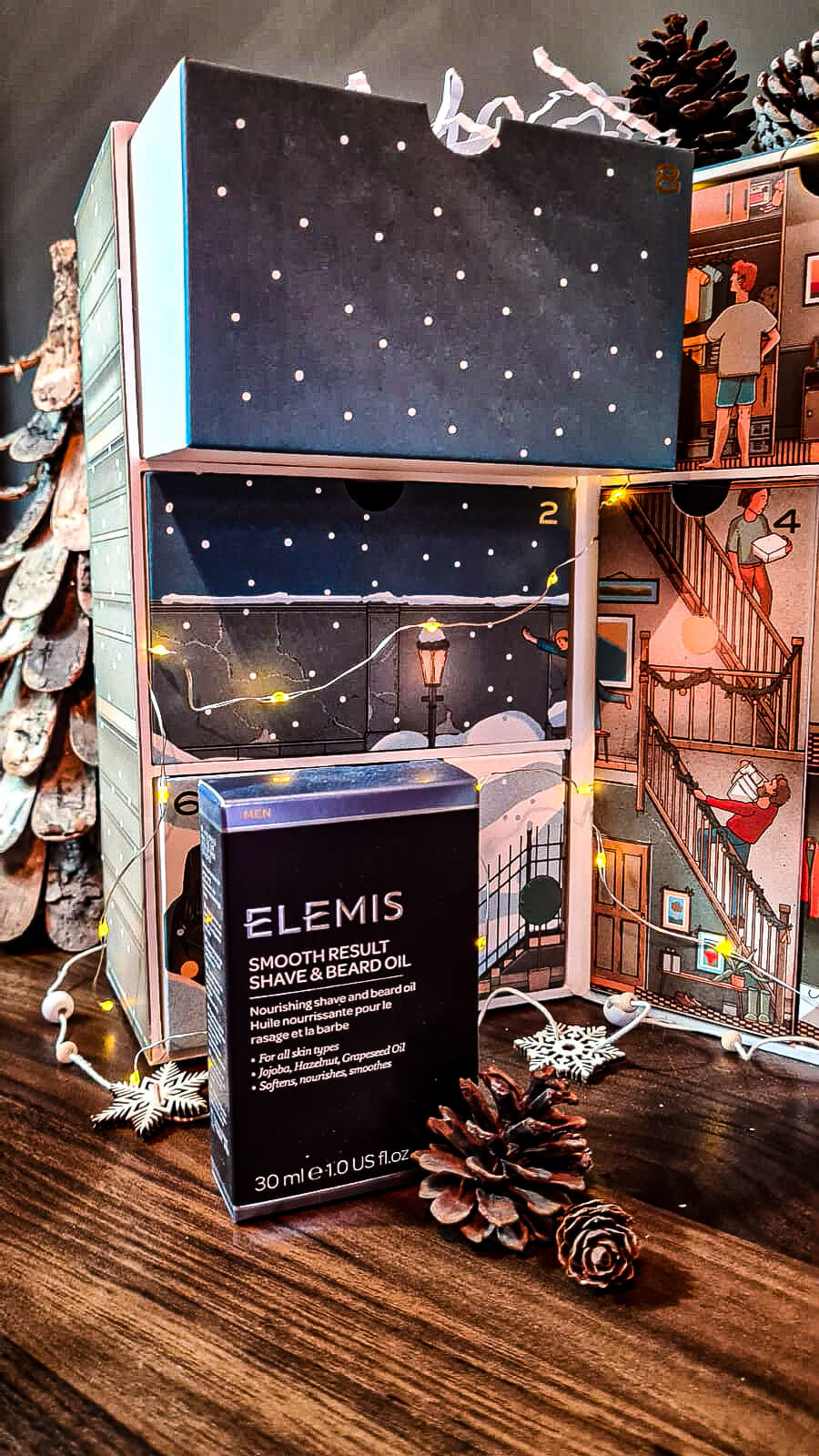 Men's Grooming Luxury Advent Calendar With MR PORTER - Elemis Smooth Result Shave and Beard Oil