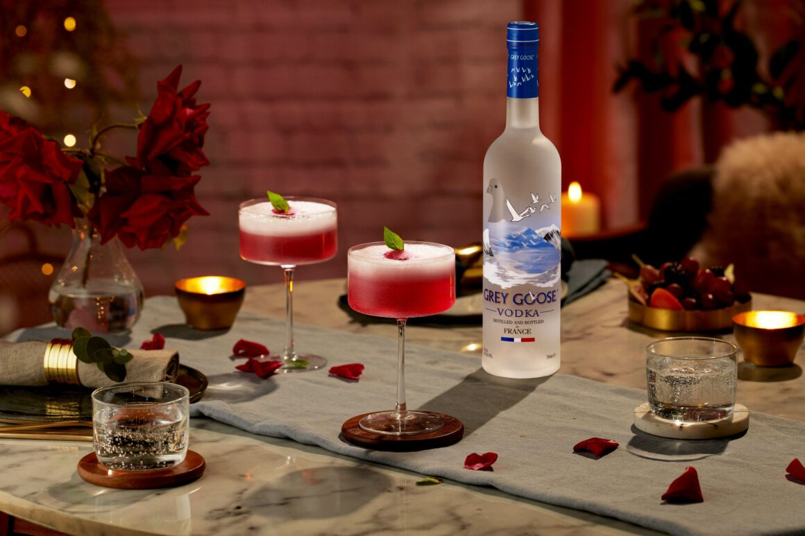 3 Valentine's Day Cocktails With Grey Goose