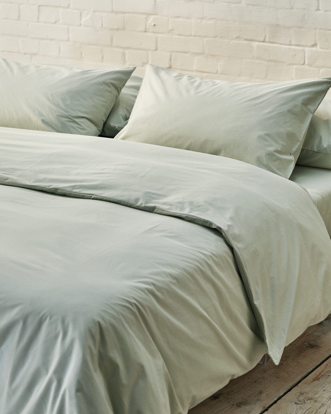 Beddable Pastel Collection - Sage Green Percale