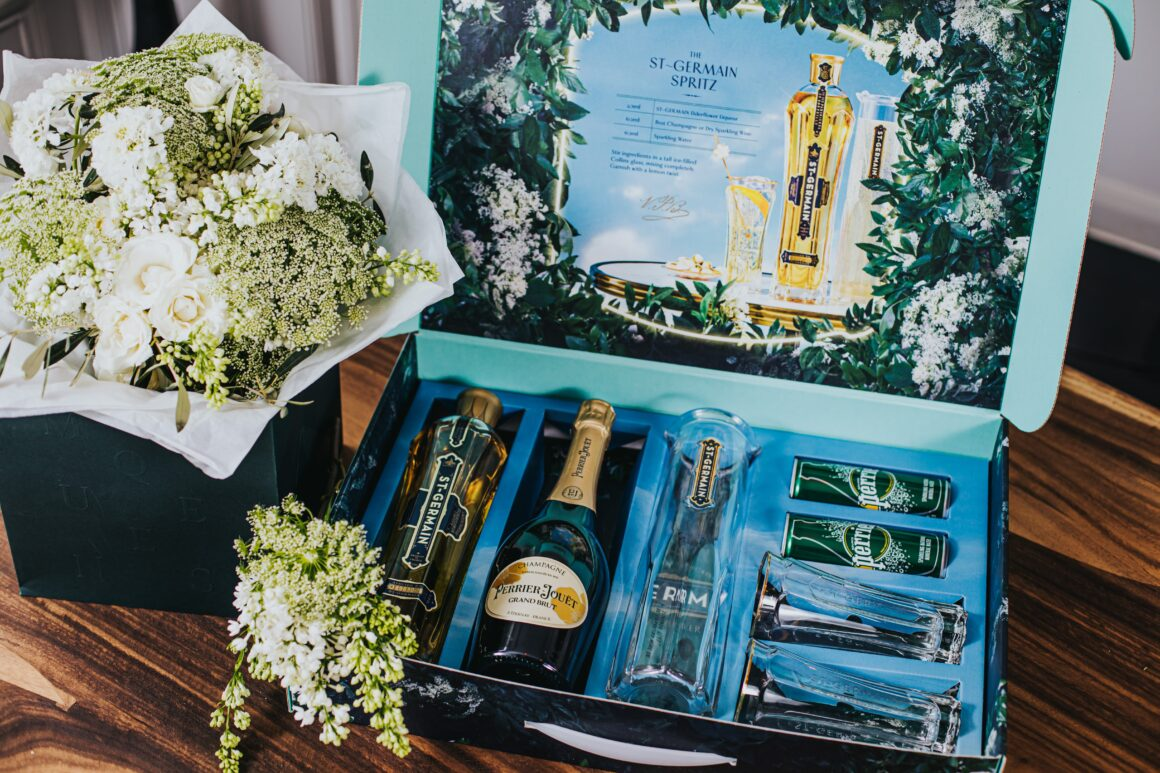 Mother's Day with St Germain x McQueens Flowers Cocktail Kit