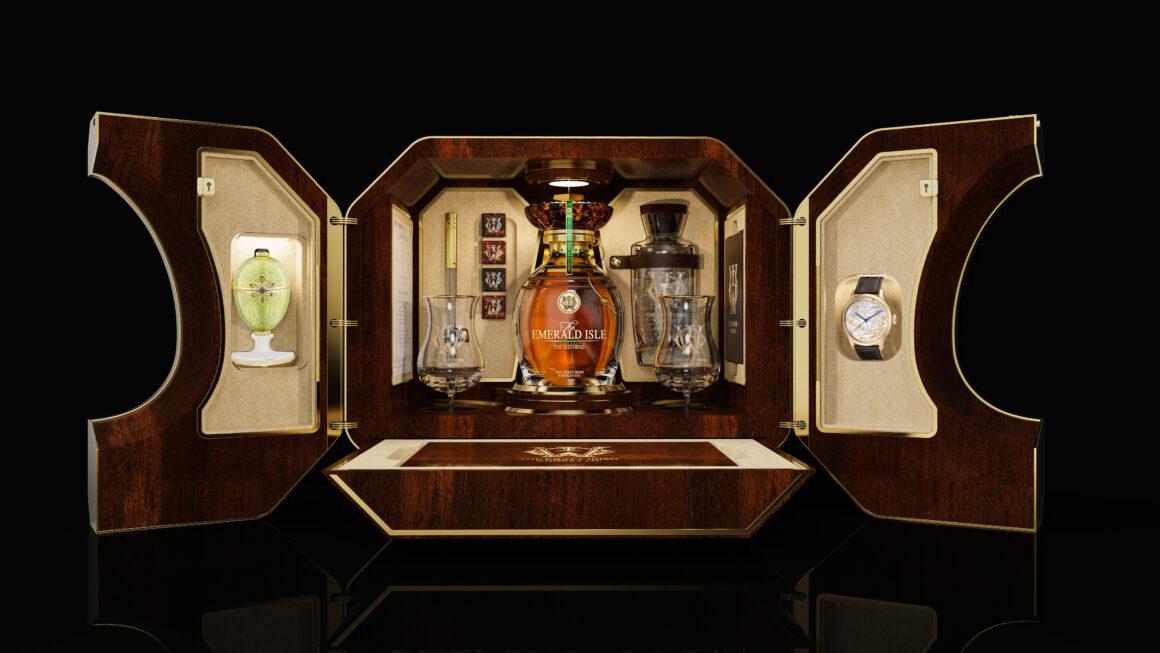 Celebrate St Patrick's Day with a World Class Irish Whiskey Treasure Case