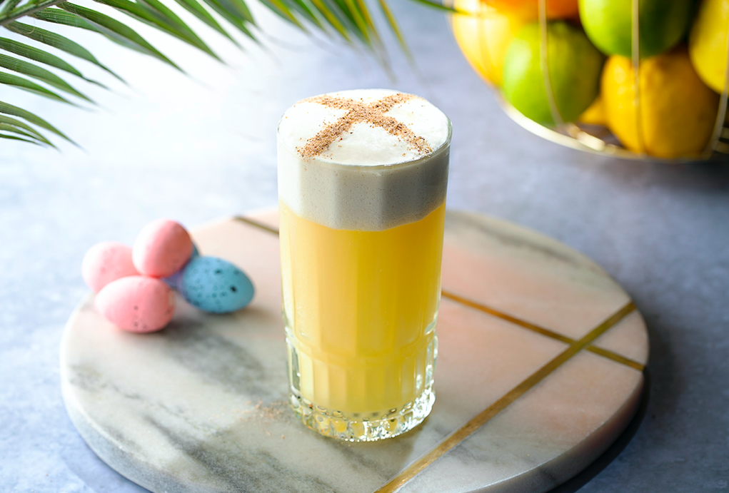 Hot Cross Rum Cocktails For Easter