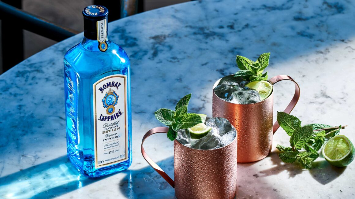 Tips on pre-batching alfresco cocktails - Bombay Sapphie Gin Mule