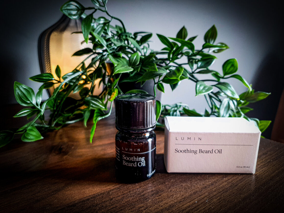 Looking after your skin with Lumin Skincare - Lumin Soothing Beard Oil