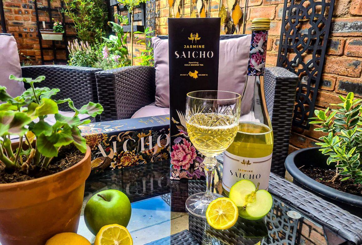 A Refreshing Summer Sip With Saicho Jasmine Sparkling Tea