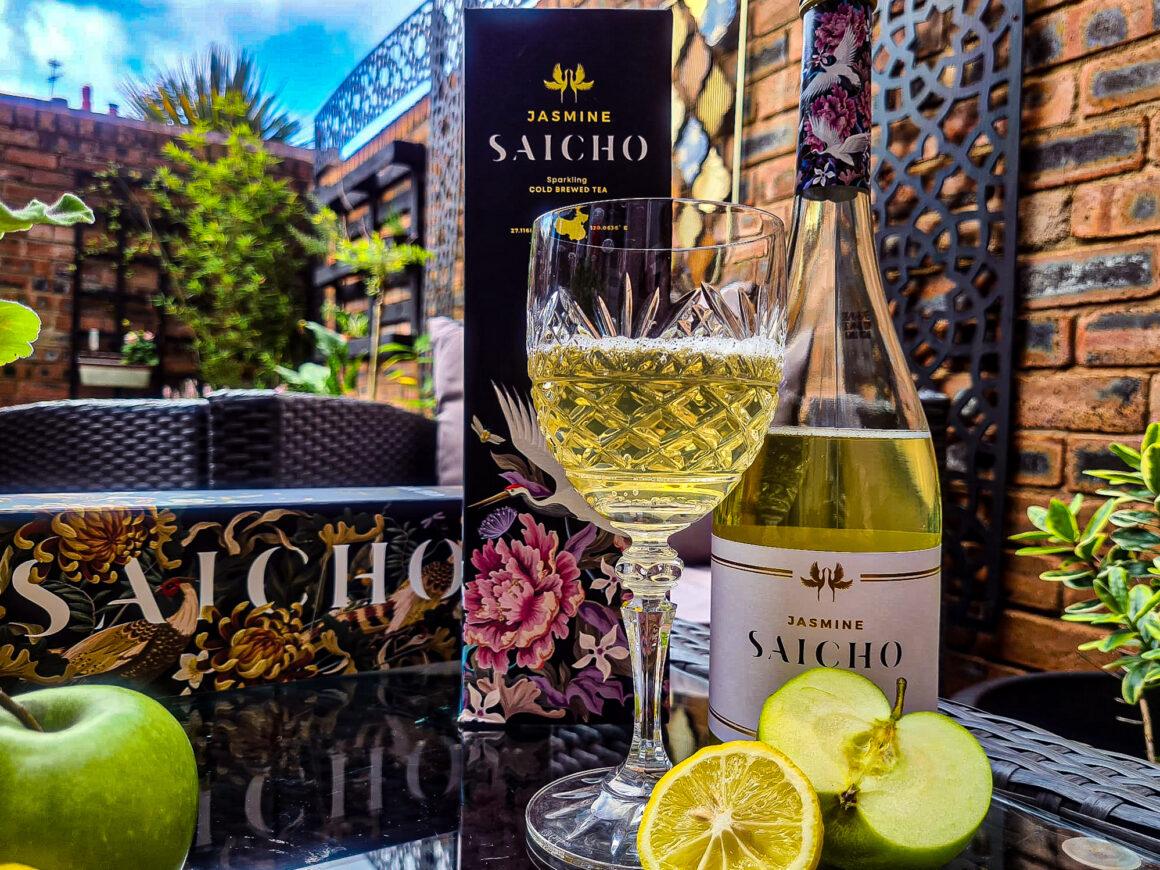 A Refreshing Summer Sip With Saicho Sparkling Tea