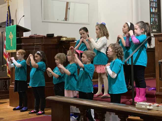 Main Street Children's Choir Fall Session Concludes with Performance, Accepts Registration for Winter