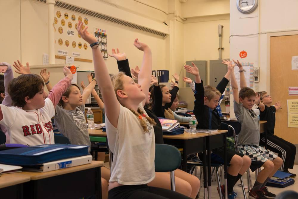 Classroom Chair Yoga