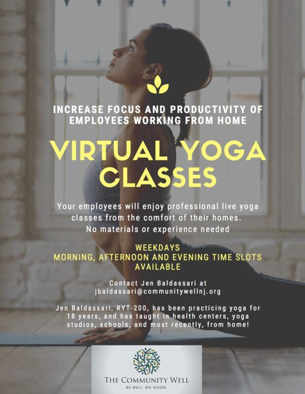 At-Home Virtual Yoga