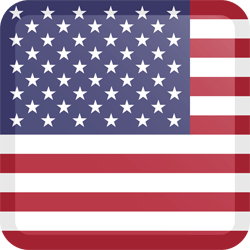 Icon united states flag english spoken
