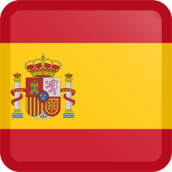 Icon spanish flag we speak spanish hablamos español latino hispanic