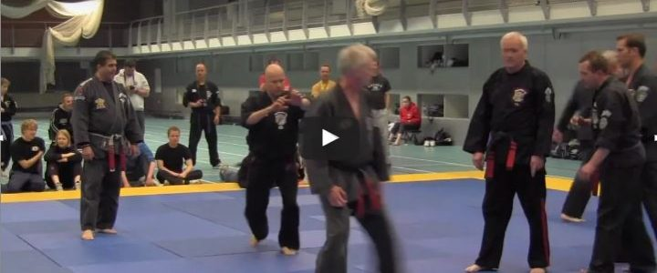 IKC 2012 Kenpo Black Belts Technique line 1