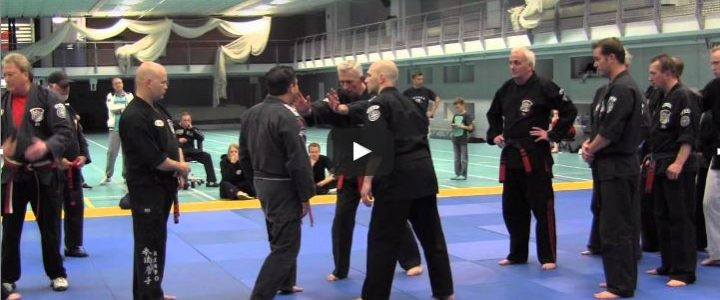 IKC 2012 Kenpo Black Belts Technique line 2