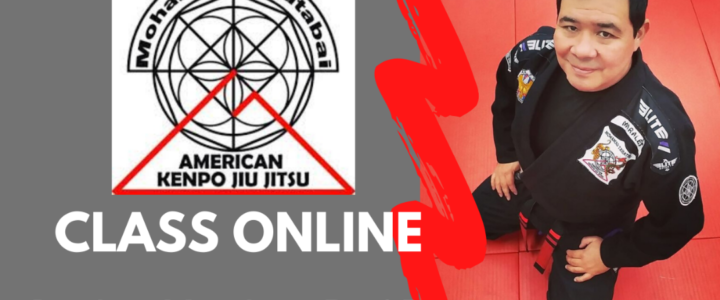 """(Day 2) Online Classes for Students, Members and friends of American Kenpo Jiu Jitsu Academy"