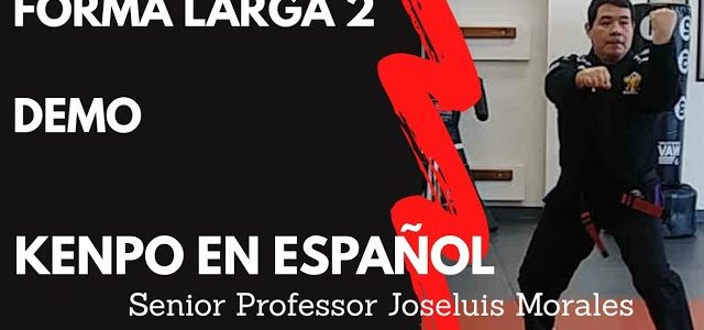 KENPO EN ESPAÑOL – Forma Larga 2 – DEMO – Joseluis Morales S.P
