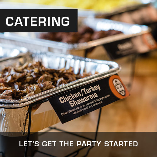Order Mr Shawarma Catering