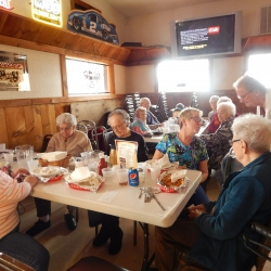 Lunch Day Out at Buzzy's April 2017