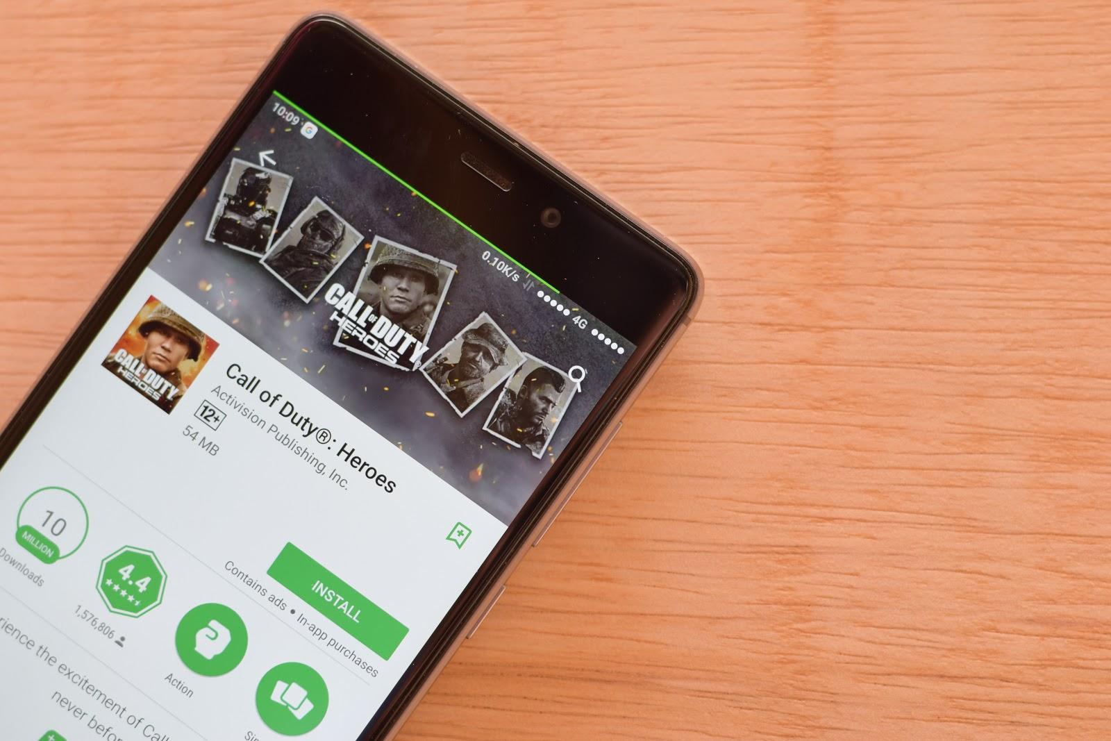 Activision Internship: Call of Duty mobile app