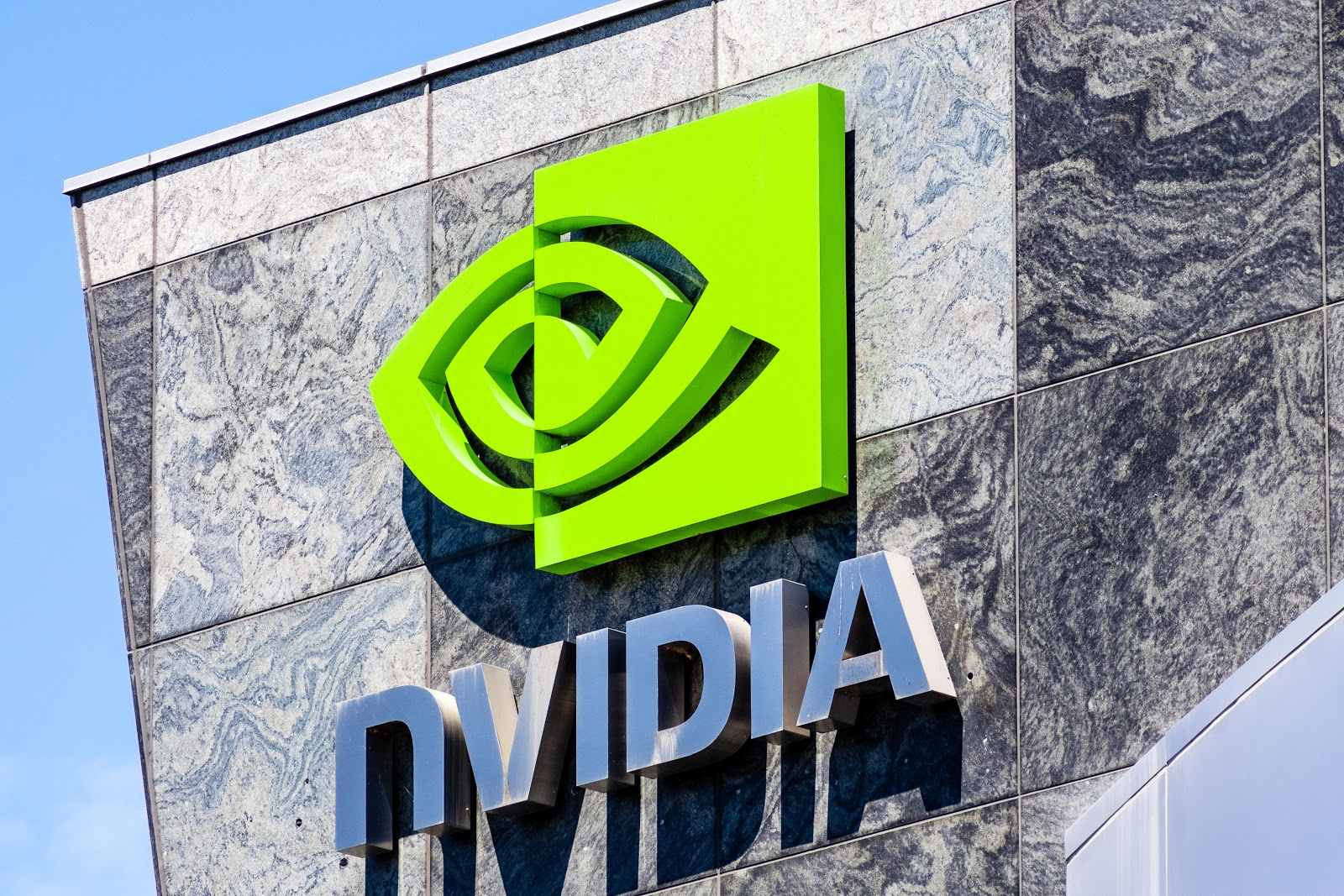 Nvidia internship signage