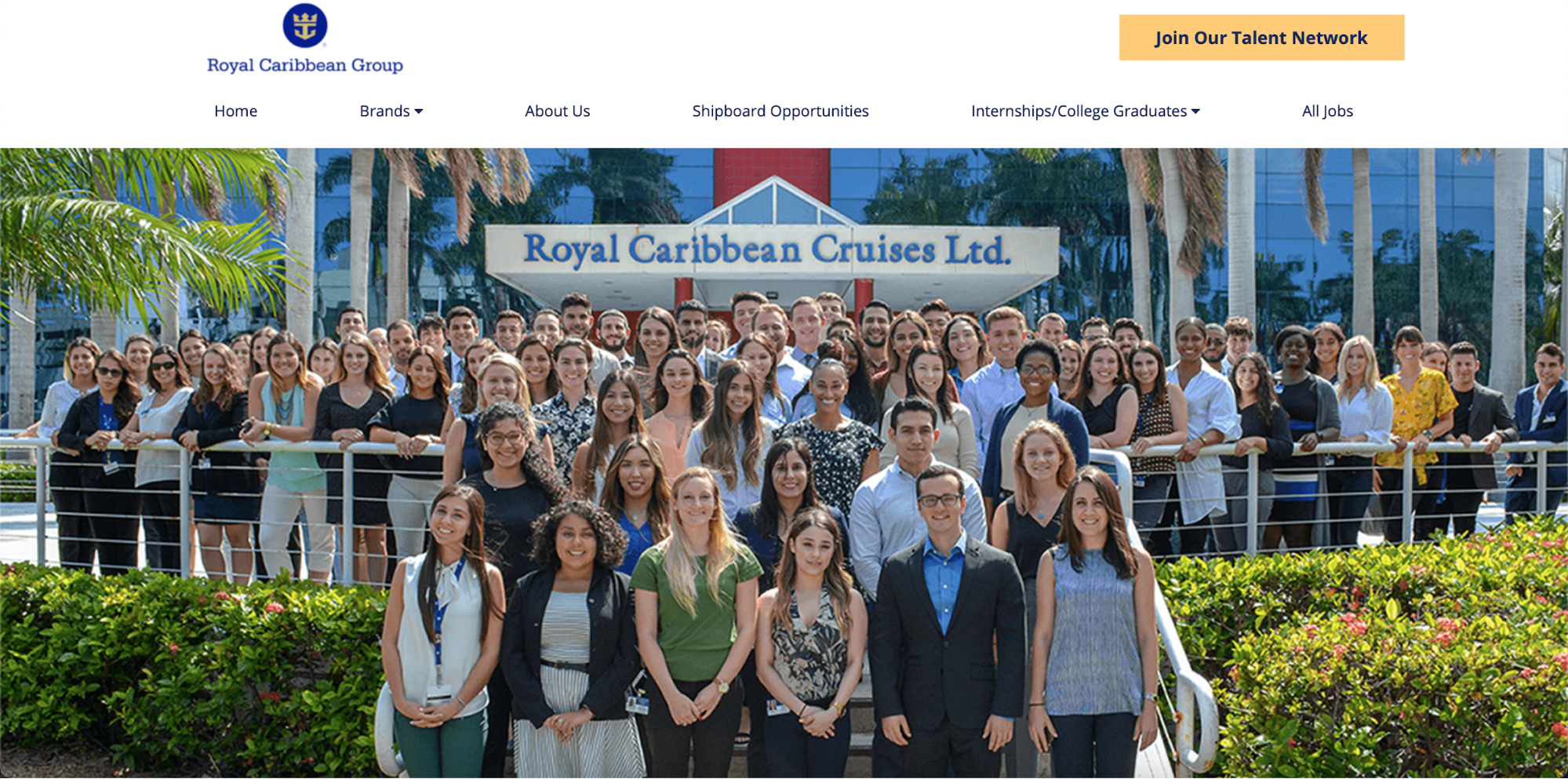 Interns of Royal Caribbean Cruises Ltd.