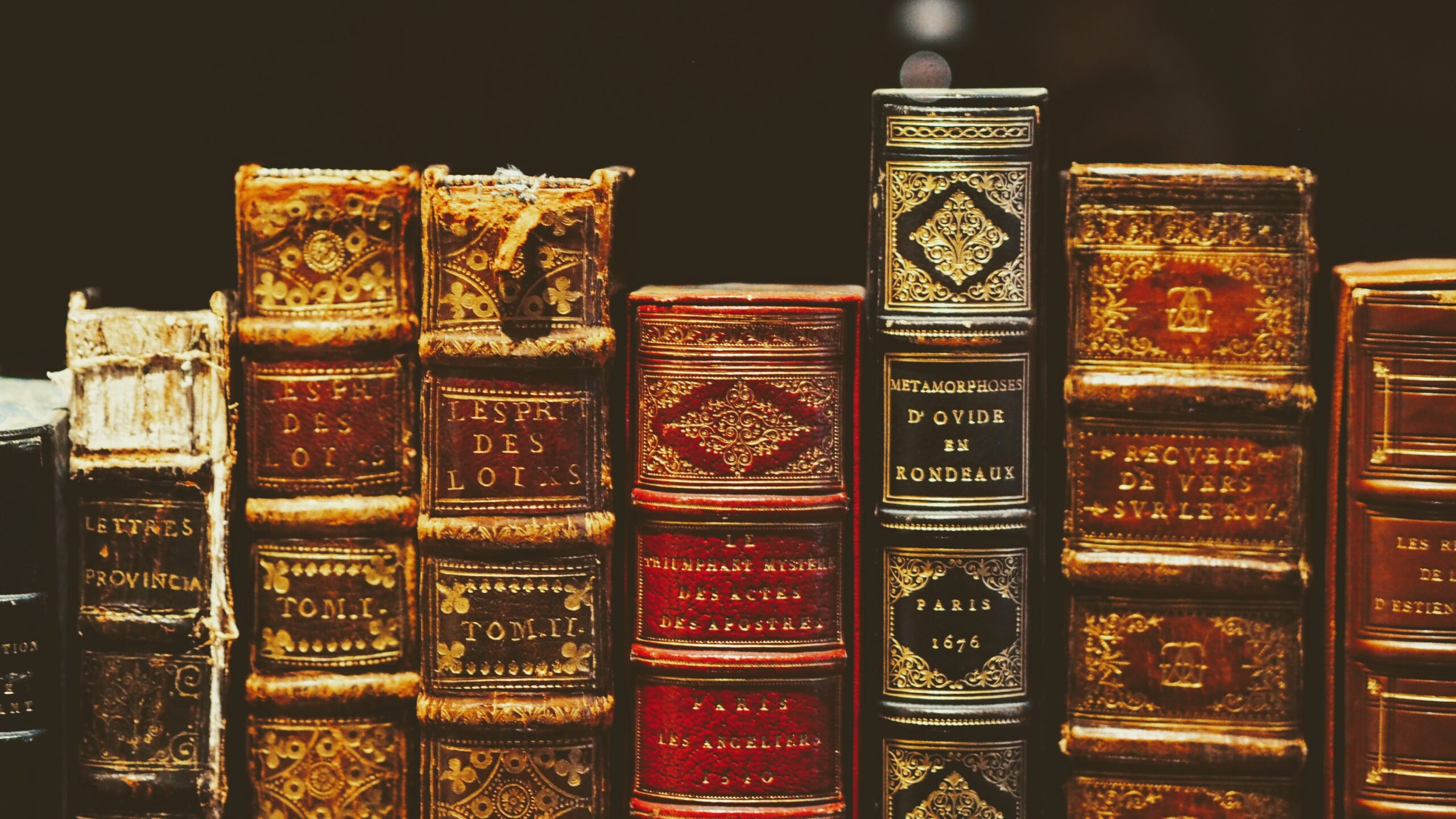 Binds of old books