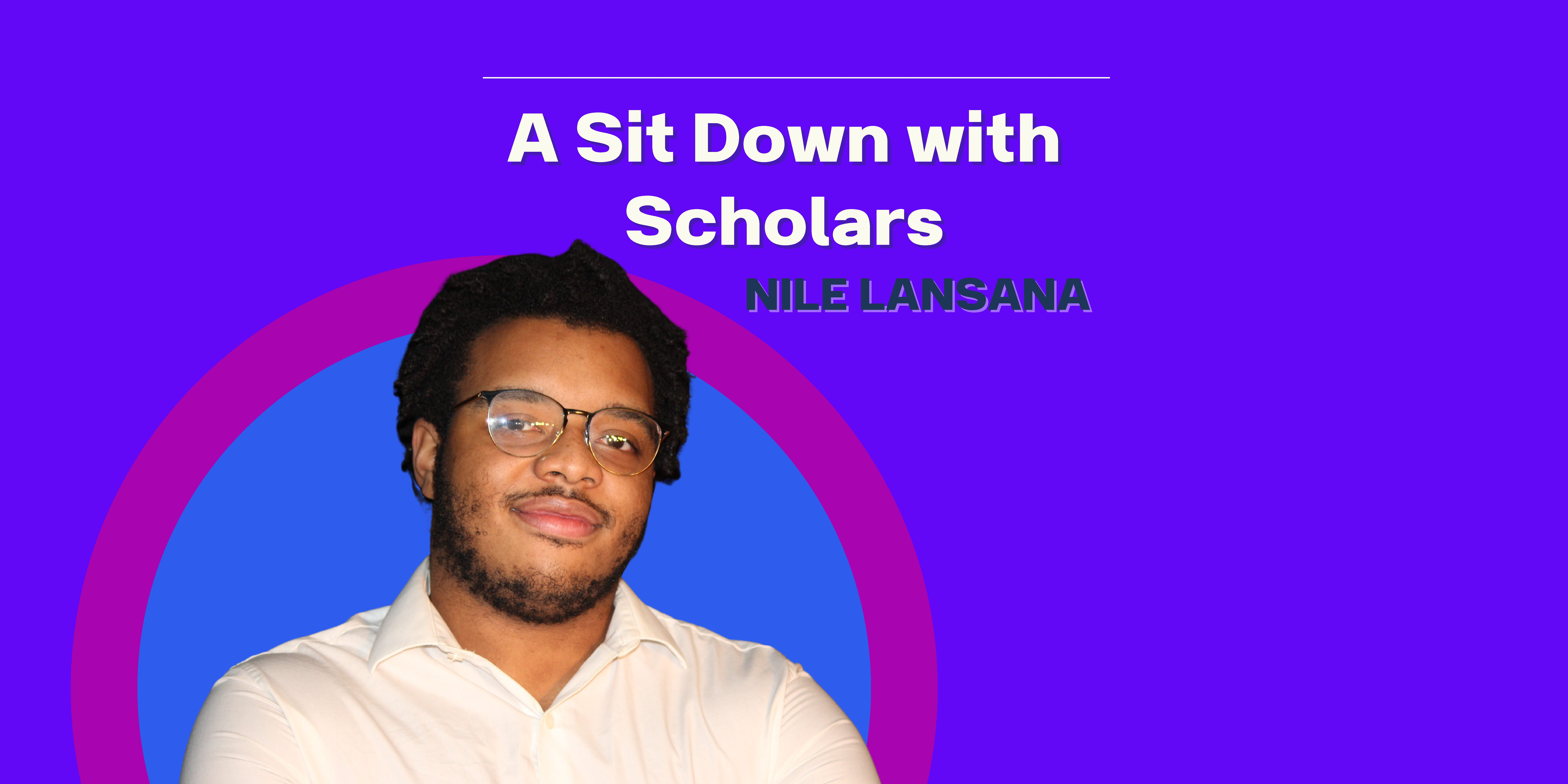 """A Sit Down with Scholars: Episode 4 """"A Sit Down with a Gap Year Student"""""""