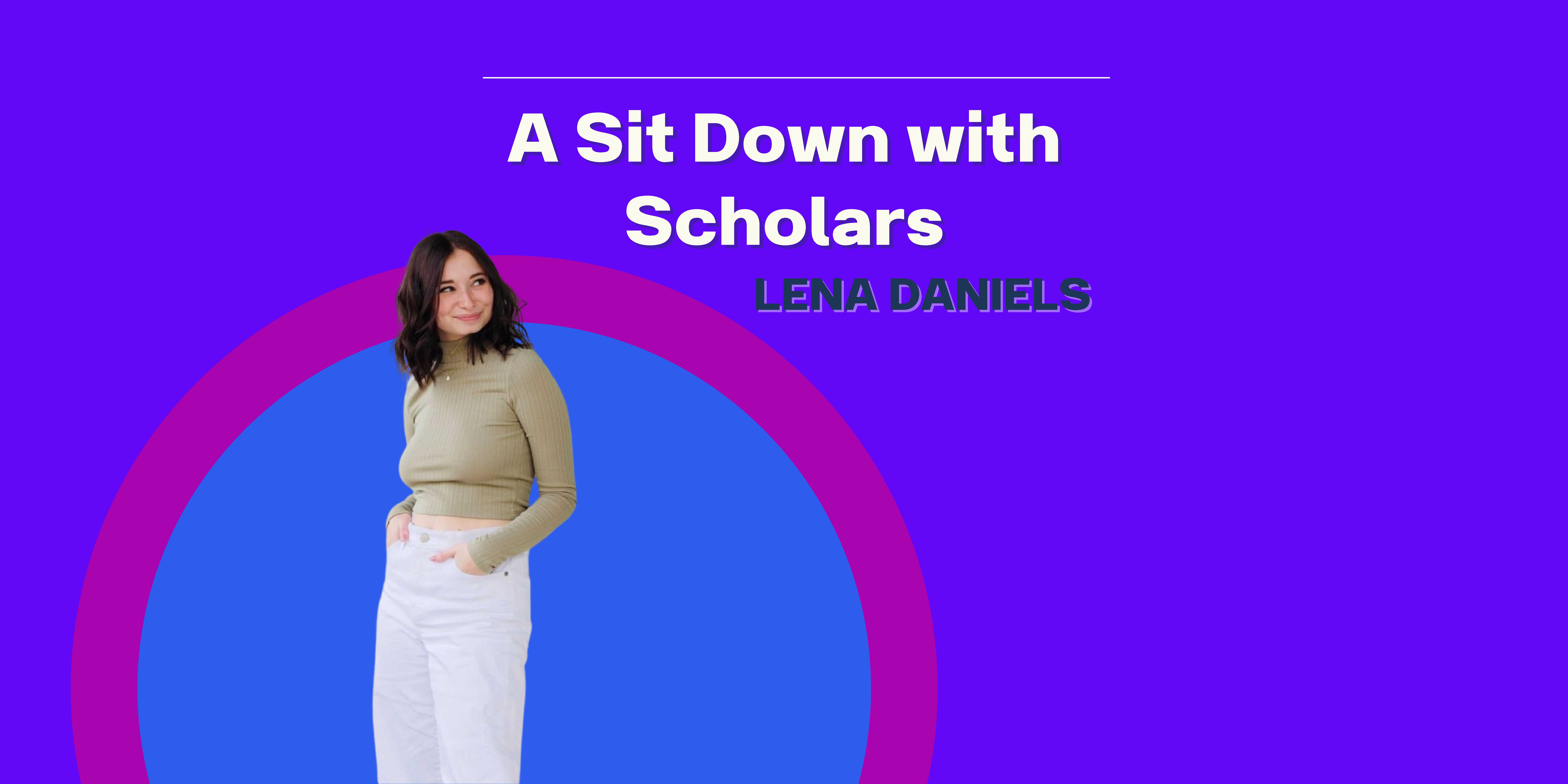 """A Sit Down with Scholars: Episode 2 """"A Sit Down with a Hospitality Major and Instagram Influencer"""""""