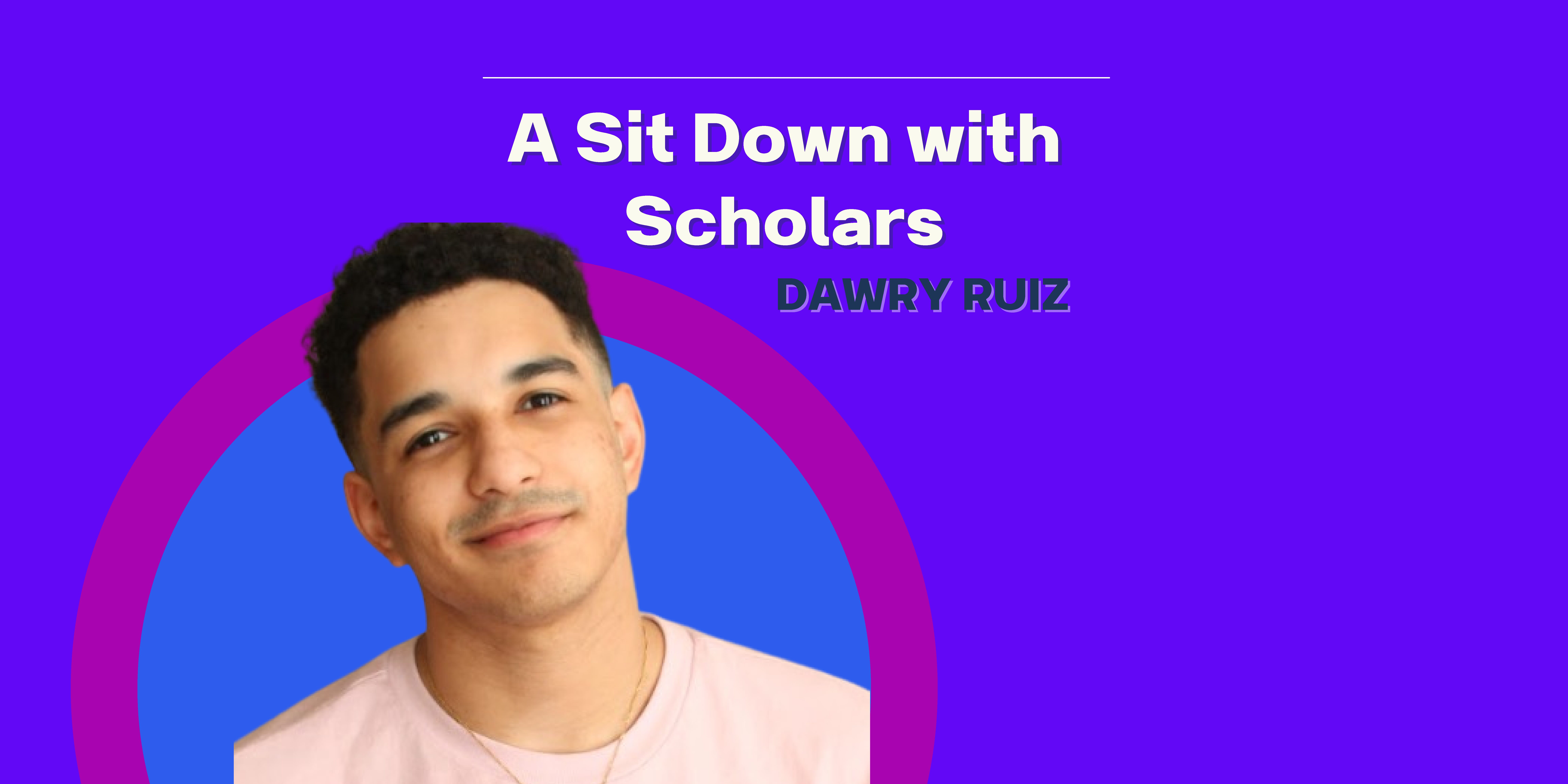 """A Sit Down with Scholars: Episode 5 """"A Sit Down with an Arts Administration Student"""""""