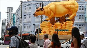 Doğu Asya ülkeleri boğa yılını kutladı