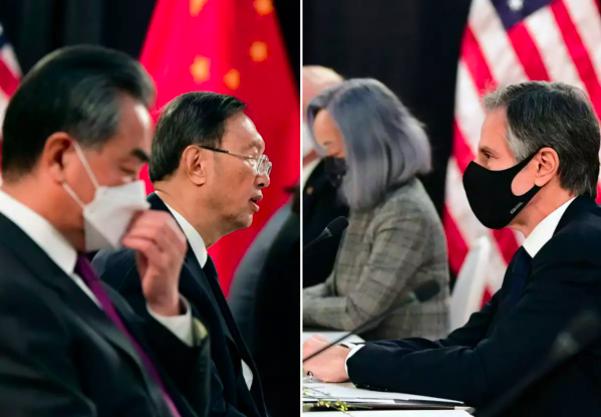 Alaska'da ABD-Çin toplantısı