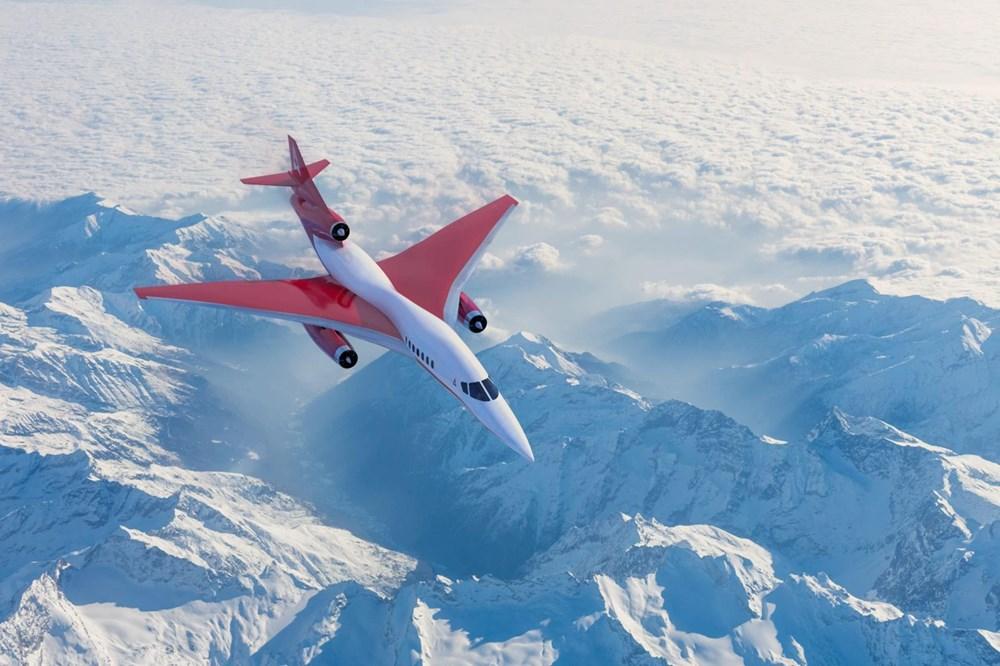 Dünyanın en hızlı yolcu uçağı