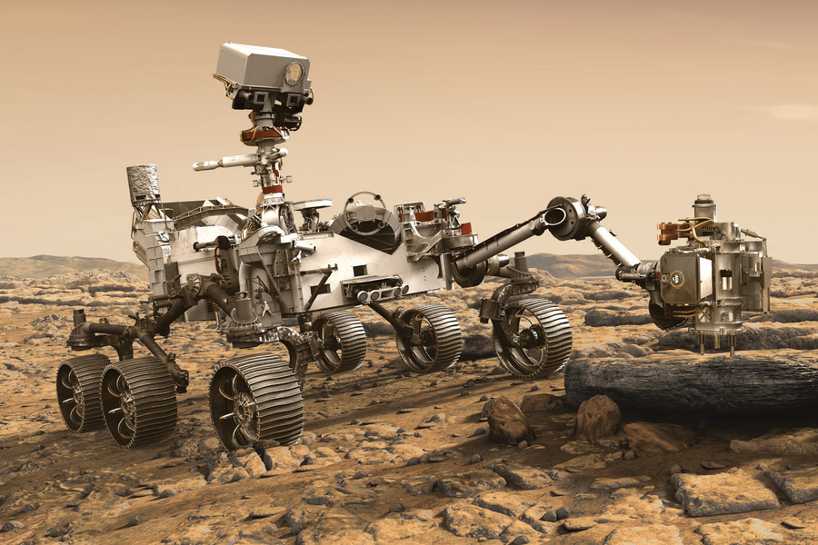 Mars'ta 100 gün