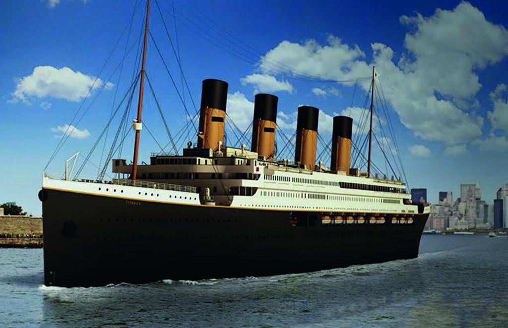 Titanic tekrar yola çıkıyor