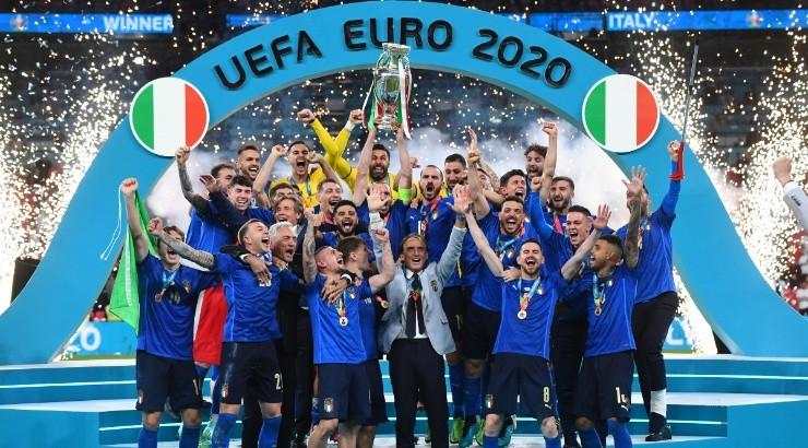 İtalya futbolda Avrupa şampiyonu oldu