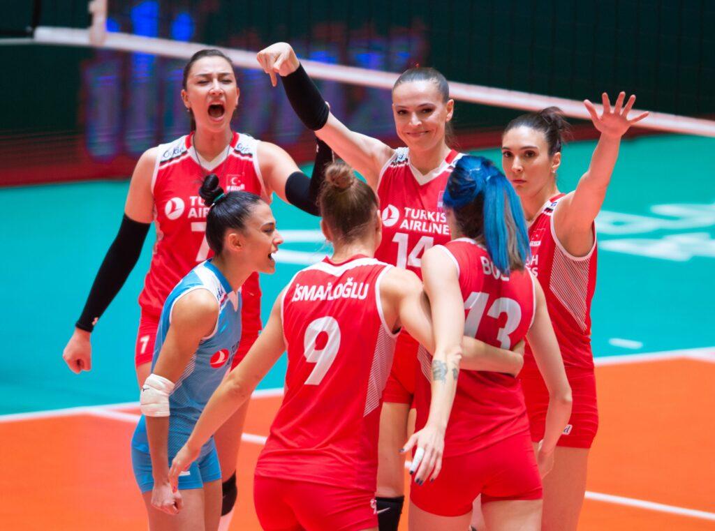 Türkiye voleybolda Avrupa üçüncüsü