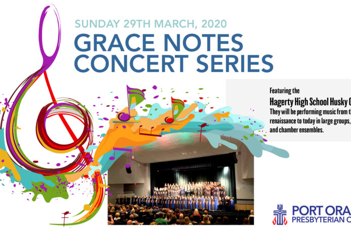 Grace Notes: Mar 29th – CANCELLED