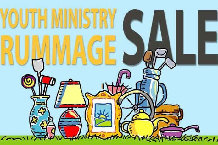 Youth Rummage Sale-Apr 25-POSTPONED