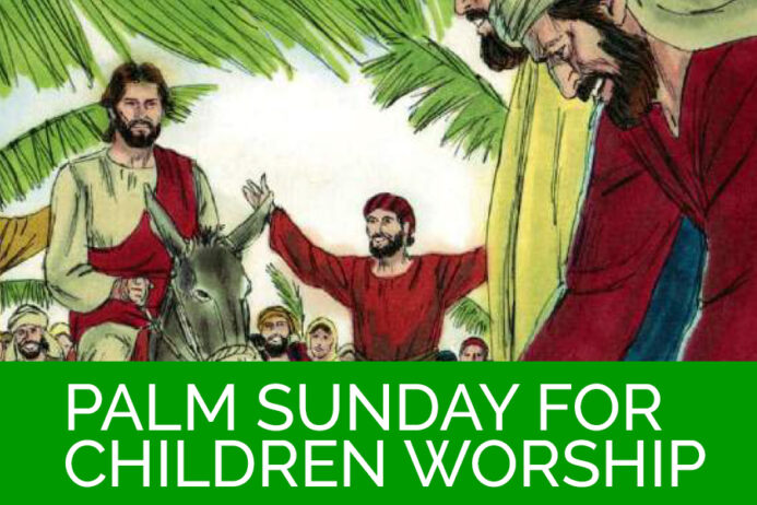 Palm Sunday for Children