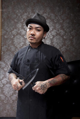"""Chef """"T"""" Ouk, Waters Edge Winery"""