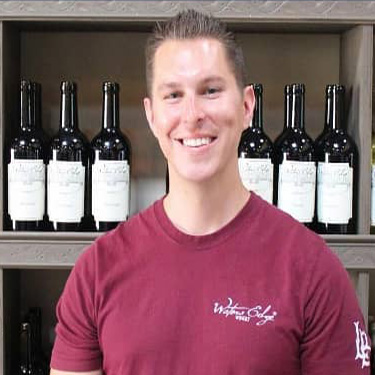 Winemaker Collin Mitzenmacher