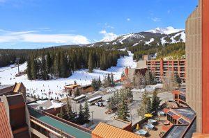 View of Ski Lift from Condo Balcony