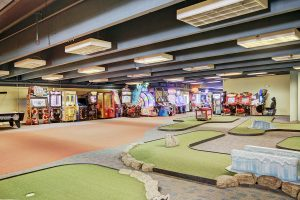 Game Room with Mini Golf