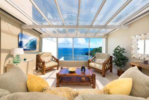 Puu Poa #313 Atrium with Ocean Views