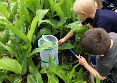 Sherwood-Academy-boys-in-garden
