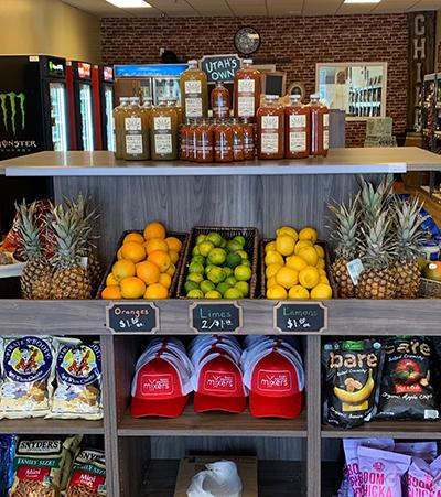 Fruit shelves med