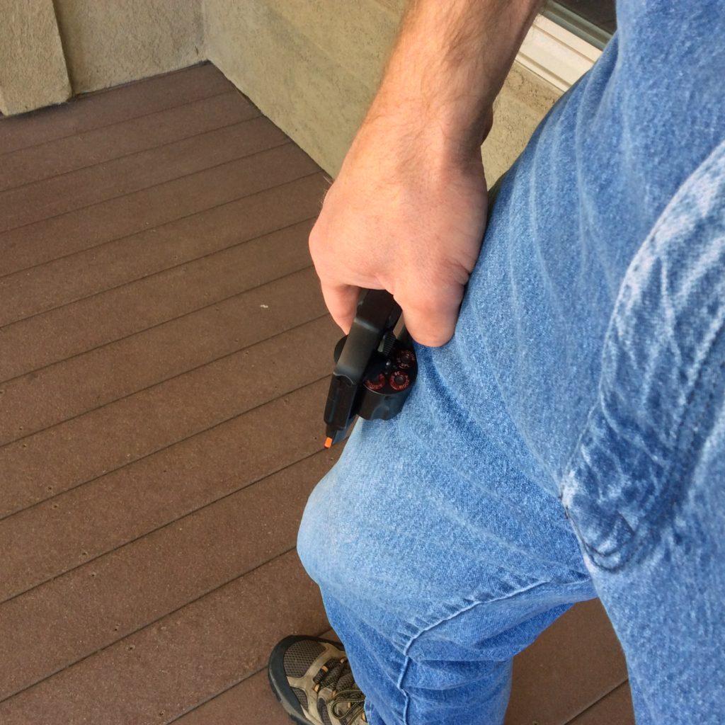 One-Handed Revolver Reload