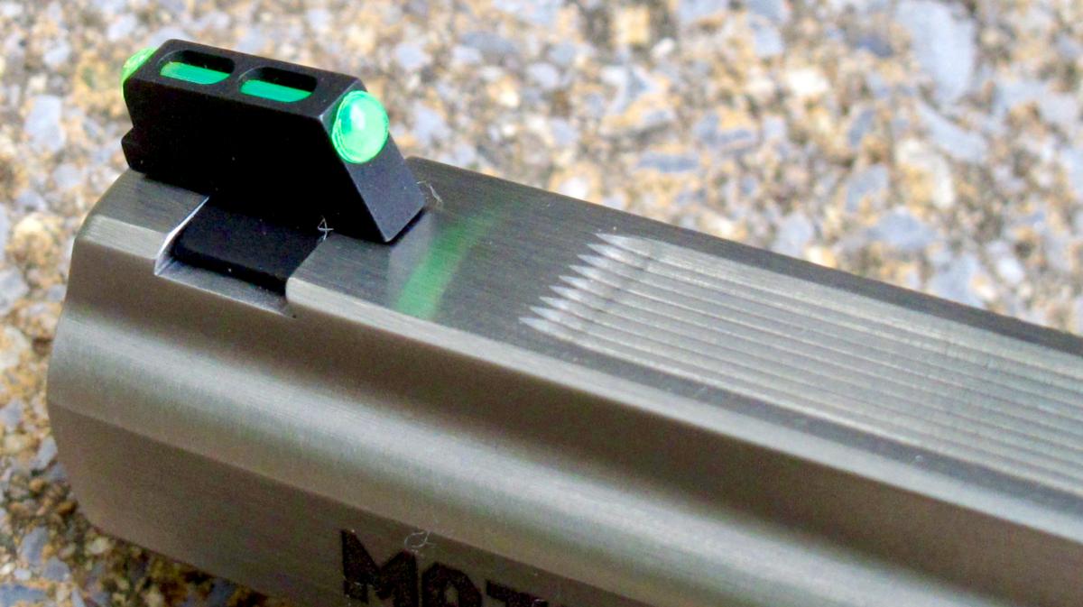 Why I Don't Like Fiber-Optic Sights