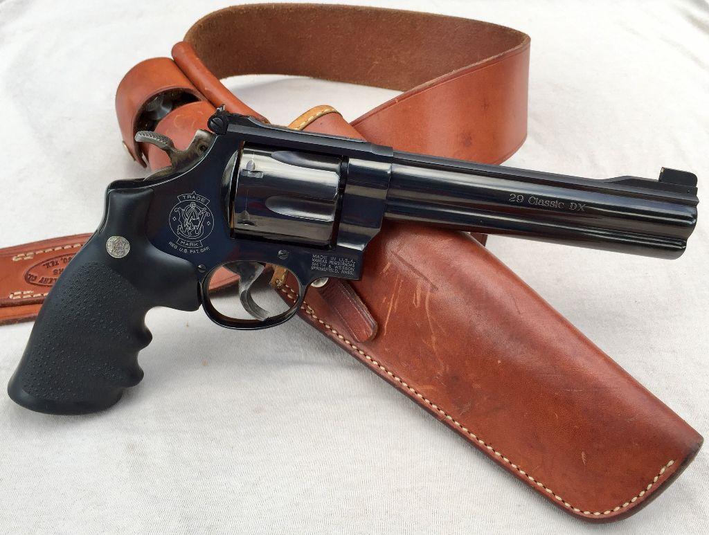 "S&W Model 29 Classic DX:  It's all in the ""DX"""