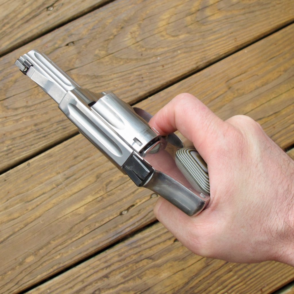 Small Revolvers Are Hard to Shoot